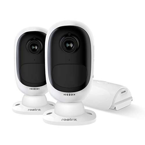 REOLINK Argus 2(2 Pack)| Wi-Fi Smart Home Battery Camera with Night...