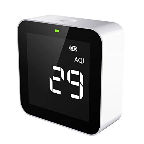 Temtop M10 Air Quality Monitor for PM2.5 HCHO TVOC AQI Professional...