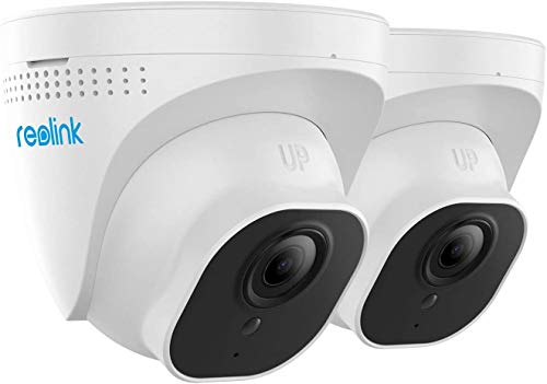 Reolink PoE IP Camera (Pack of 2) Outdoor 5MP HD Video Surveillance Work...