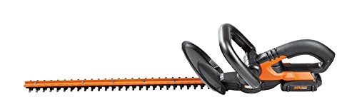 WORX WG255.1 20V PowerShare 20' Cordless Electric Hedge Trimmer