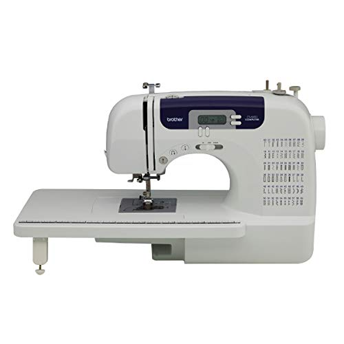 Brother Sewing and Quilting Machine, CS6000i, 60 Built-in Stitches, 2.0'...