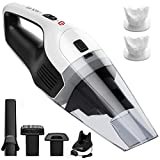 Holife Handheld Vacuum Cordless Hand Vacuum Cleaner Rechargeable Hand Vac,...