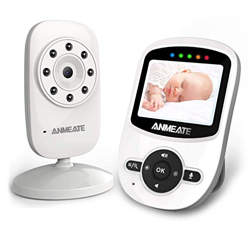 Video Baby Monitor with Digital Camera, ANMEATE Digital 2.4Ghz Wireless...