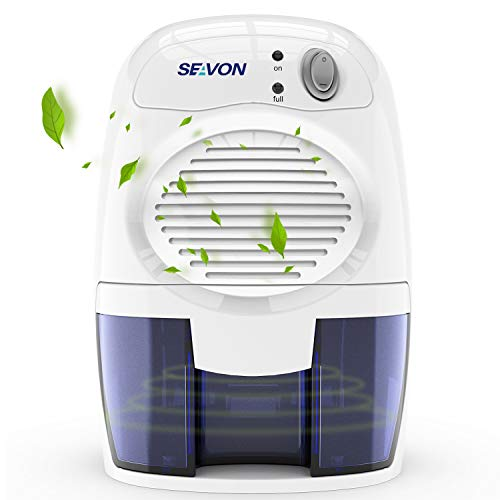SEAVON Electric Upgraded Dehumidifier for Home, 2000 Cubic Feet (195 sq ft)...