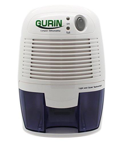 Gurin Thermo Electric Mini Dehumidifier, 1100 Cubic Feet, Peltier...