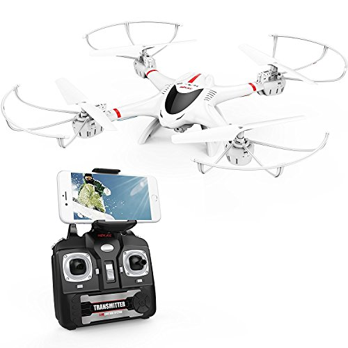 DBPOWER X400W FPV RC Quadcopter Drone with WiFi Camera Live Video One Key...