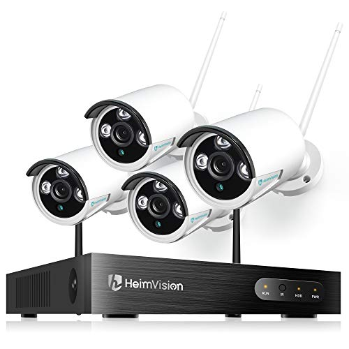 heimvision HM241 1080P Wireless Security Camera System, 8CH NVR 4Pcs...