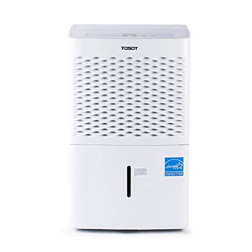 TOSOT 1,500 Sq. Ft. 30 Pint Dehumidifier - Energy Star, Quiet, Portable...