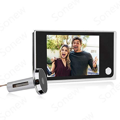 Home Video Door Eye Viewer Security Camera Visual Door Electronic Cat Eyes...