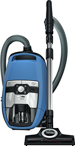 Miele Blizzard CX1 Turbo Team Bagless Canister Vacuum Tech Blue...