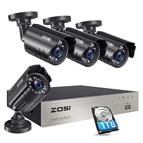 ZOSI 8CH HD-TVI Full 1080p