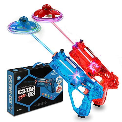 shoot&fly Gun Game Blaster as a Remote Control Drone, Toy Guns with an...
