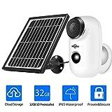 1080P Solar Wireless Camera,Outdoor Security Camera,App Remote,2-Way...