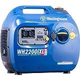 Westinghouse WH2200iXLT Super Quiet Portable Inverter Generator - 1800...
