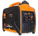 WEN 56125i Super Quiet 1250-Watt Portable Inverter Generator, CARB...