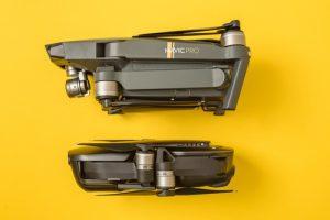 DJI Mavic Air and Mavic Pro drones