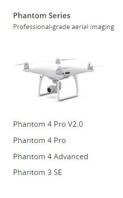 New Version of Phantom Series Drones