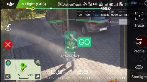 activetrack dji drones