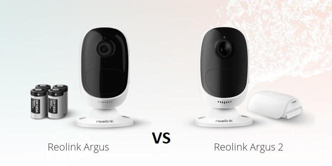Reolink Argus VS Reolink Argus 2