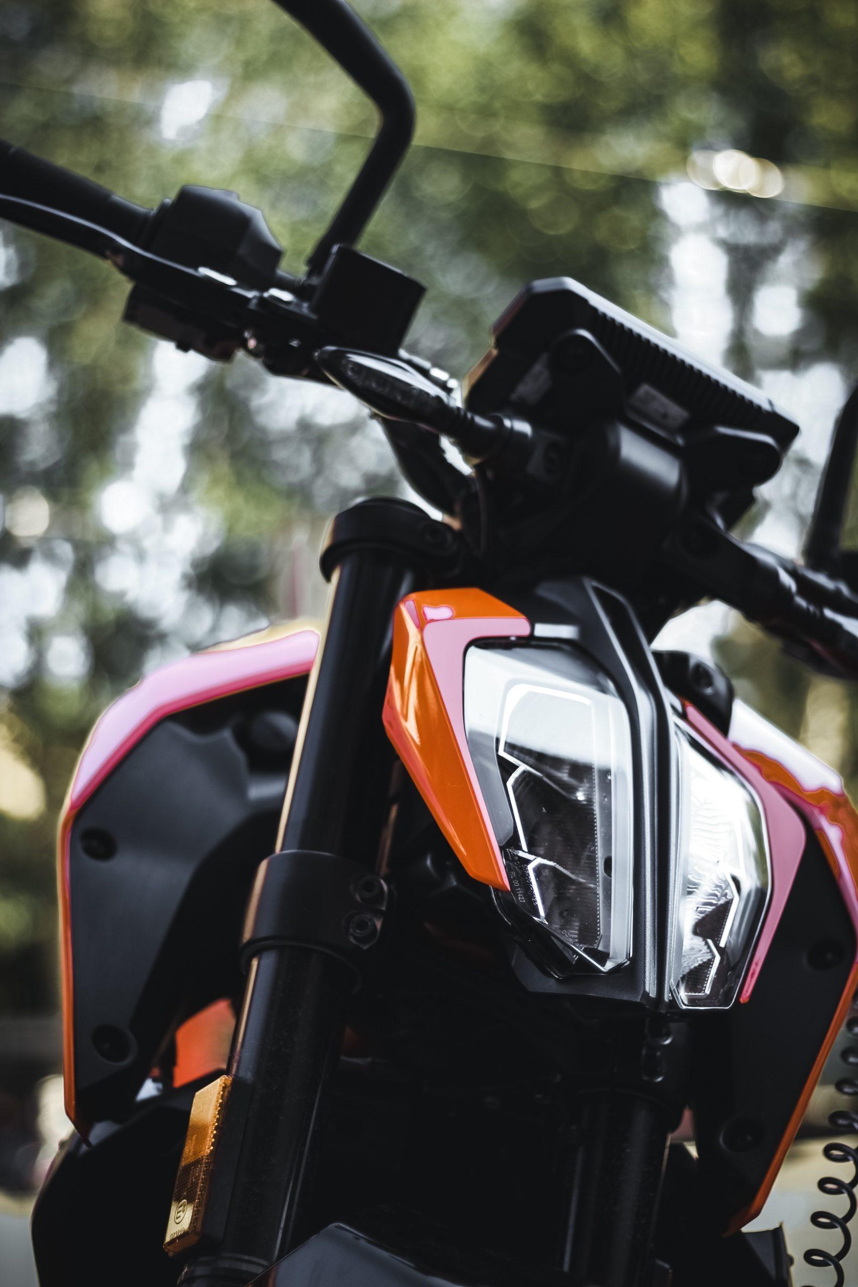 Locking Motorcycle