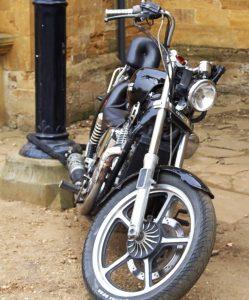 My Motorcycle Is Locked