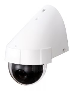 Day & Night Color IP surveillance camera isolated