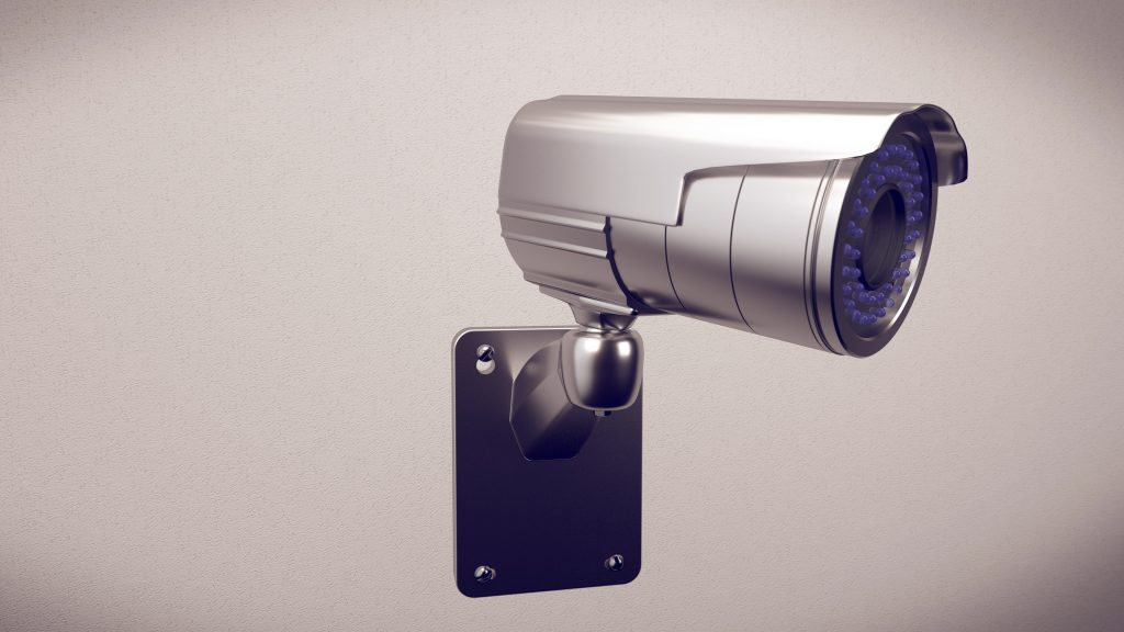 an outdoor security camera that is LTE