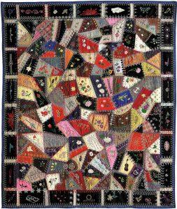 Crazy patch quilts
